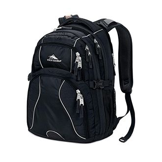 Backpack with Tech Pockets and Dividers