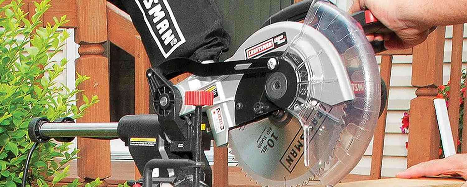 Diy how to change a circular saw blade sears circular saw being held greentooth Images
