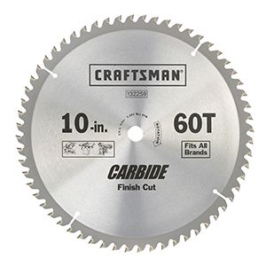 Circular saw finish blade