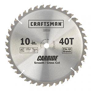 Circular saw cross cut blade