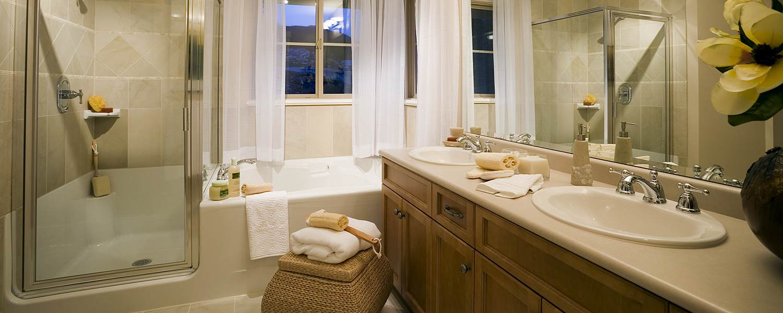Beautifully Decorated Bathroom