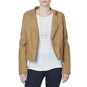 Woman Wearing Moto Jacket