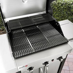 Porcelain-coated grilling grates