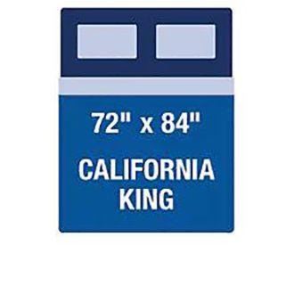 California King Mattress Diagram