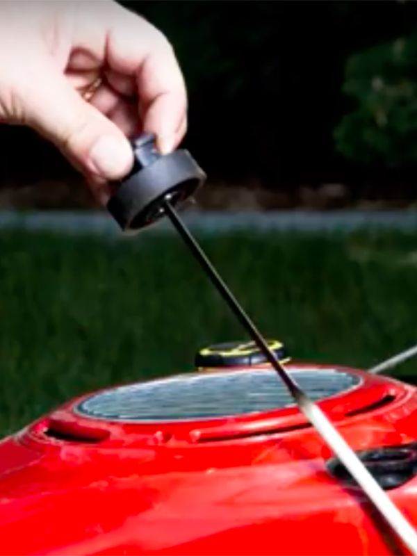 Diy How To Change Your Push Mower S Oil Sears