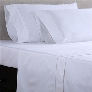 Flat Sheets on a Bed