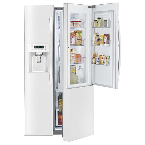 Kenmore Elite 51862 Counter-Depth Side-by-Side Refrigerator w/ Grab-N-Go™