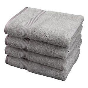 Folded Bath Towels