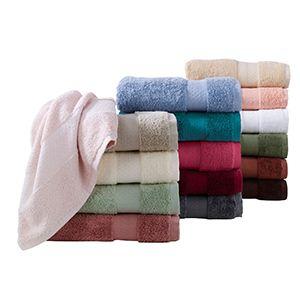 Pima Cotton Towels Folded