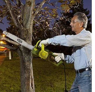 Corded chain saw