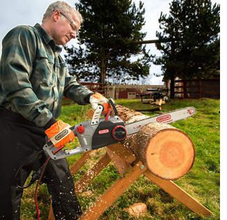 Electric corded chain saw