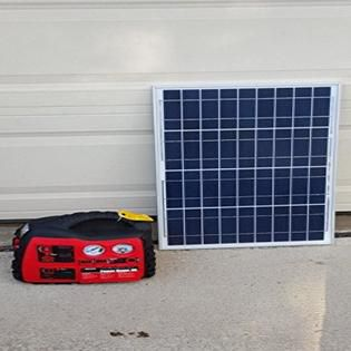 Solar generator and battery pack