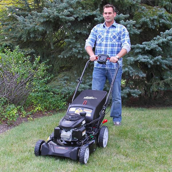 Rear-Wheel Mower