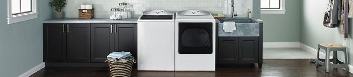 Laundry room with the latest machines