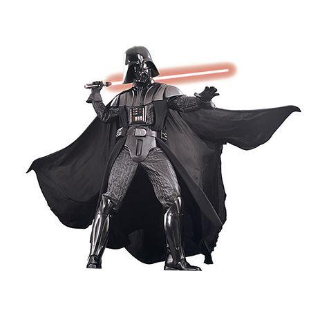 Man in a Supreme Darth Vader Costume