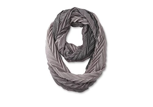 Women's Pleated Infinity Scarf