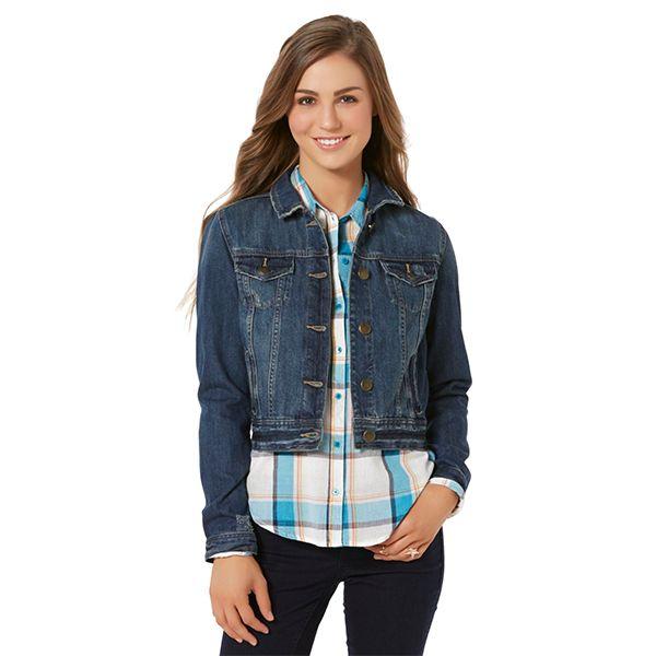 Juniors' jean jacket