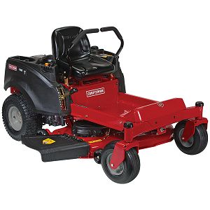 "Craftsman 20428 46"" 22 HP V-Twin Briggs & Stratton Zero Turn Riding Mower"