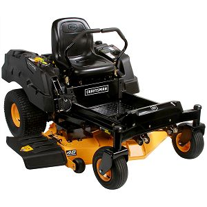 "Craftsman 48"" 24 HP V-Twin Kohler Fabricated Deck Zero Turn Riding Mower w/ Smart Lawn Bluetooth Technology"