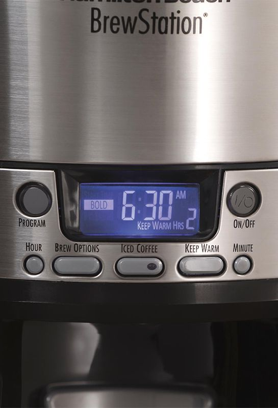 Coffee maker with timer, programmable settings and more