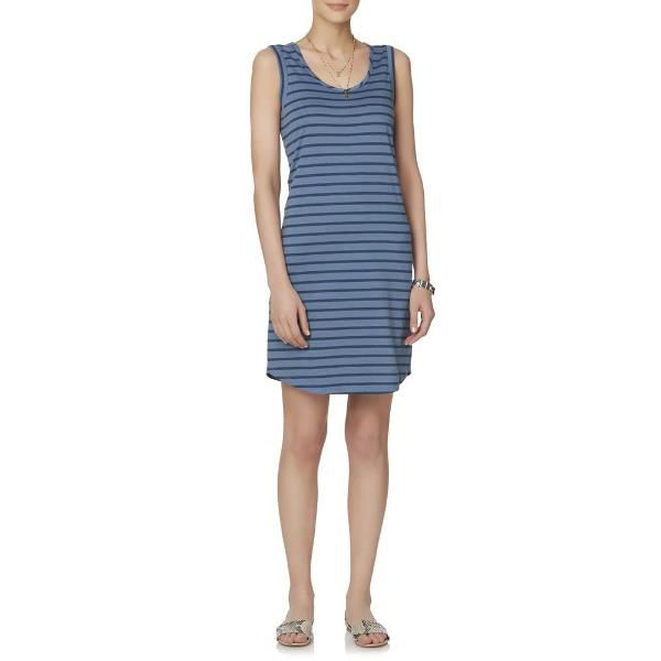 Simply Styled Women's Striped Tank Dress