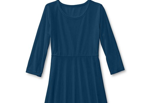 Simply Styled Girls' Velour Skater Dress
