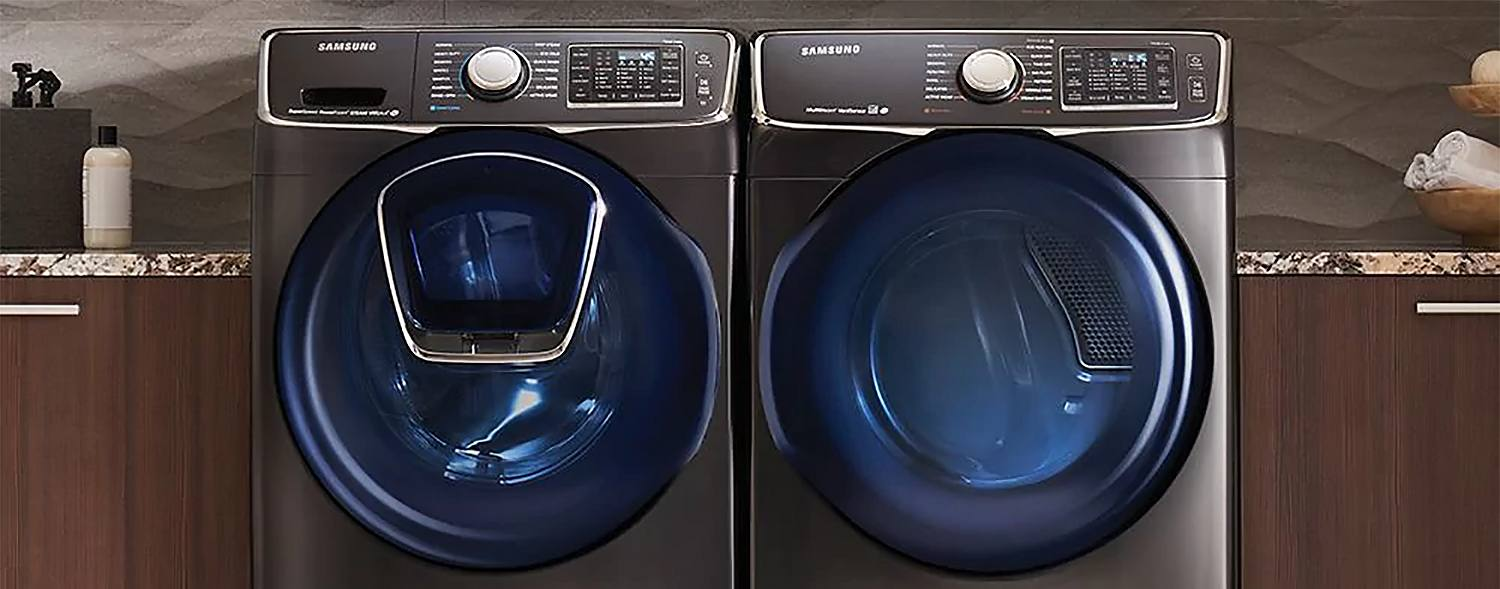 Dryer with Washing Machine