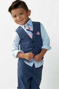 Boy in Easter dress set
