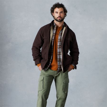Man in a Outdoor Life Men's Shirt Jacket