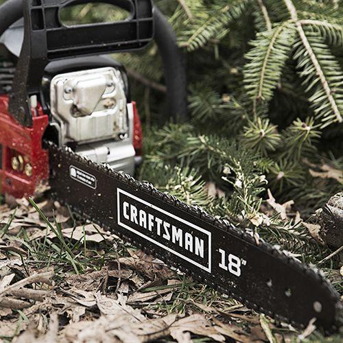 """Craftsman 18"""" 42cc Gas Chainsaw"""
