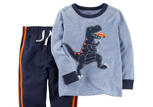 Carter's Toddler Boys' Graphic T-shirt & Jogger Pants