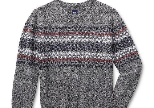 Route 66 Fair Isle Men's Sweater