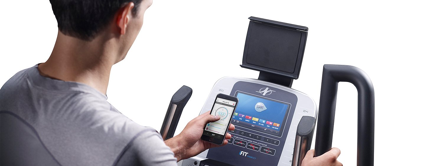 Treadmill with iFit