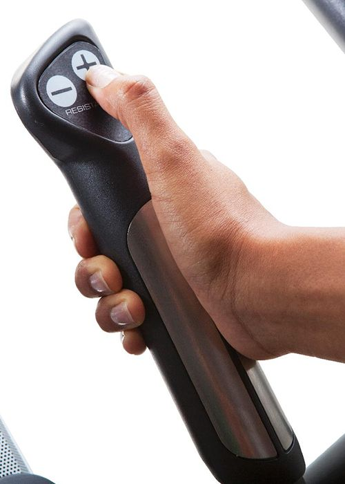Resistance on elliptical handle