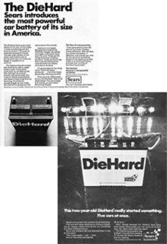 DieHard Battery announcement & Two-year anniversary ad
