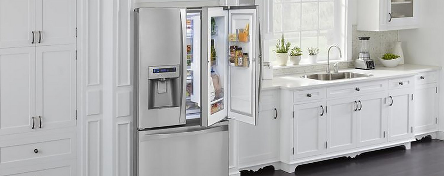 Open Refrigerator Door