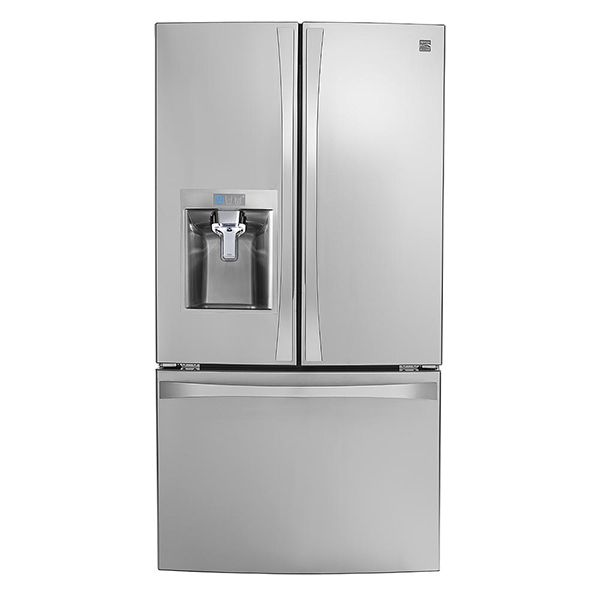Kenmore Elite 24 cu. ft.  Smart French Door Bottom-Mount Refrigerator - Stainless Steel