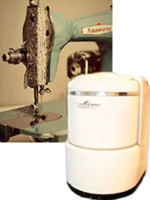 Kemmore Drop Feed Sewing Machine & Washing Machine