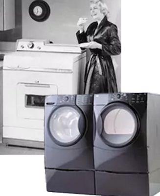Kenmore 1950s Washer-Dryer Combo & Kenmore Elite HE3t Heater