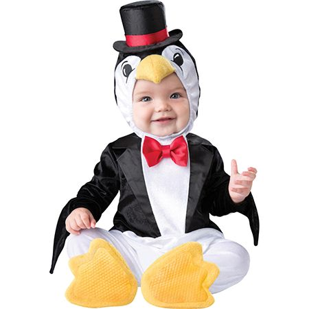 Child in a Playful Penguin Toddler Costume