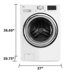Measuring a Washer or Dryer