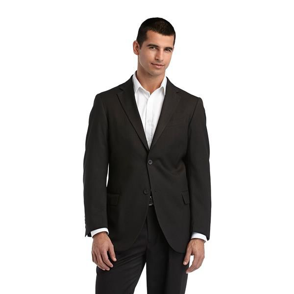 Men's Suit with an Unbuttoned Collar