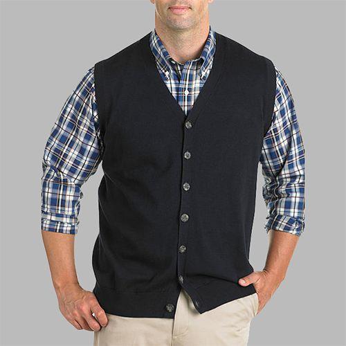 Man in a sweater vest