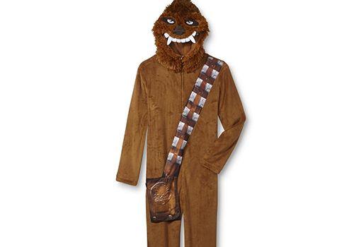 Men's LucasFilm Star Wars One-Piece Chewbacca PJs