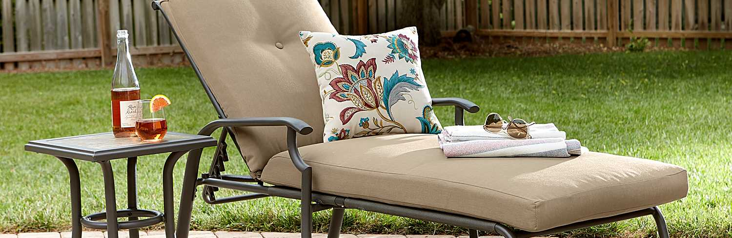 4 Types Of Patio Chairs For Your Yard Sears