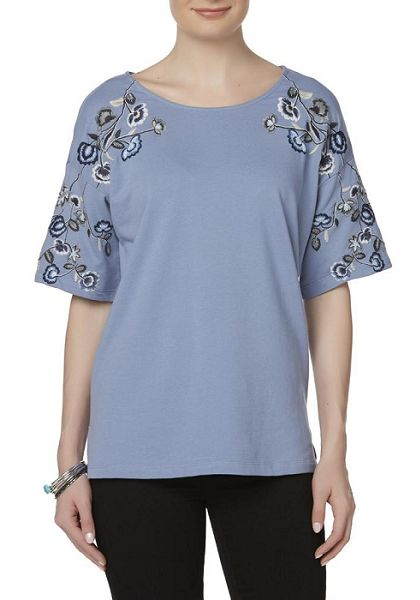 Simply Styled Women's Floral T-Shirt