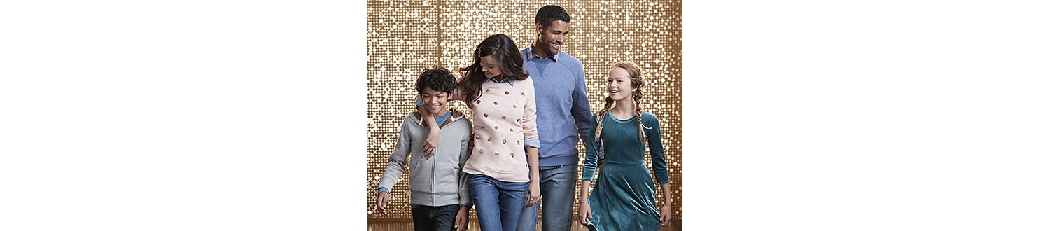Simply Styled outfits for the family in 2017 Sears Wish Book
