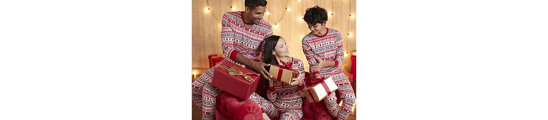 Family holiday sleepwear in 2017 Sears Wish Book