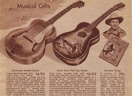 Guitars in the 1942 Sears Christmas Book