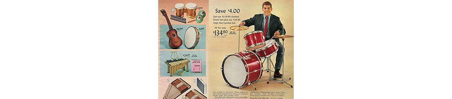 Instruments in the 1966 Sears Christmas Book